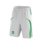 Short Jogo Branco e verde
