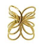 Anel feminino de Ouro 18k Polido e Diamantado