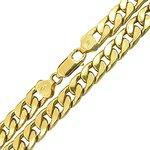Corrente Masculina Grossa de Ouro 18K 70cm
