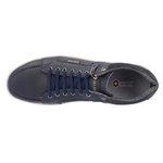 Sapato Casual Masculino com zíper Lateral Marinho Frete INCLUSO