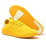 TENIS ADIDAS PHARREL WILLIAMS AMARELO MASCULINO