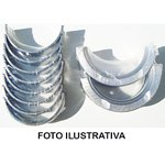 Bronzina de mancal 0,75 MWM TD229 turbo P/ F1000, F4000, F11000 a F22000, caminhoes Volks e tratores
