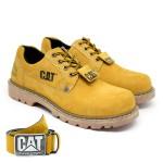 Sapato Caterpillar + Cinto Couro - Milho