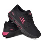 Tênis Feminino Adaption Ax900 Preto Rosa