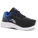 Tênis Infantil Masculino Sport Preto Azul