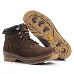 Bota Caterpillar Marrom Masculina Rally Hurricane