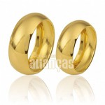 Alianças Espirito Santo De Ouro 18k