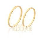 Alianças de ouro 10k baratas + entrega rápida