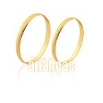 Alianças fina em ouro 10k