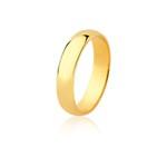 Aliança Ouro Amarelo 18k (4,50mm)