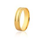 Aliança Ouro Amarelo 18k (5,20mm)
