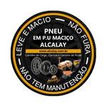 PNEU DE P.U MACIÇO RD06 p/ CARRINHO DE PICOLÉ