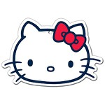 Descanso De Panela Hello Kitty Face