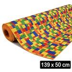 2 Mm Eva Cobertura Estampado Blocos (139x 50 Cm)