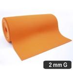 2 Mm Cobertura Laranja Perfurado g (530 x 31 Cm)