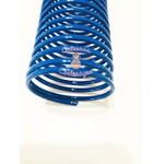 ESPIRAL DE PVC ( PLÁSTICO) AZUL - 20 MM – 4 UNIDADES