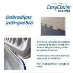 Caixa Térmica EasyCooler 80 litros com rodas