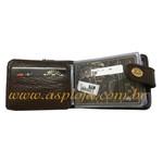 Carteira Masculina Mitty Café - K0-CF ASP-CA-863