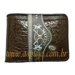 Carteira Masculina Mitty Cafe - K1-CF/ASP-CA-750