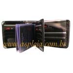 Carteira Masculina Mitty Preto - K20-LP/ASP-CA-755