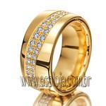 Aliança Phantastics de Casamento ou Noivado em ouro 18K 750 cravejada de diamantes-ASP-AL-03