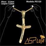 Pingente Ouro 18k Crucifixo Do Papa Estilizado-PG120