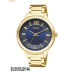 RLG-3978 - Relógio Feminino Analógico Euro Caen EU2035LQY/4A - Dourado