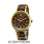 RLG-4017 - Relógio Feminino Analógico Euro Acetato Bicolor EU2035YDI/4M - Marrom