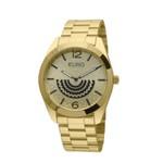 Relógio Euro Feminino Linha Fan Dourado - EU2034AN/4D - ASP-RLG-2791