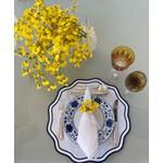 Porta Guardanapo Orquídea Chuva de Ouro