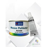 MASSA POLIÉSTER M3500 LAZZURIL 750GR
