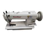 Máquina de Costura Reta Transporte Duplo Mecânica Sunset ST-0303