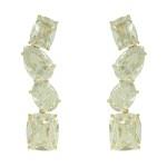 Brinco Zircônia Lesprit LB12461WGL Dourado Cristal