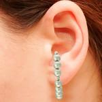 Brinco Ear Hook Metal Lesprit 37604/03 Ródio