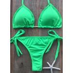Biquíni Cortininha Pamela verde Neon