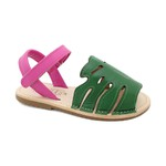 Sandália Infantil Feminino Eva - Verde/ Pink