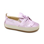 Tênis Slip On Infantil Feminino Luna - Rose Metal