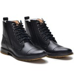 Bota Bmbrasil Oxfords 651/07 Preto