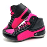 Bota Fitness Academia Crosfit 230/03 Rosa-chiclete