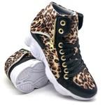 Tenis Dad Chunky Sneaker Feminina Bm Brasil 250/02 OnÇa-preto