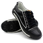 Sapatos Casual Porshe Amura 114/02 Preto