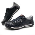 Sapato Masculino Casual Porshe Palmilha Ortopédica 147/02 Preto