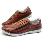 Sapatos CASUAL Masculino de Couro BMBRASIL SAPATENIS 608/13 whisk