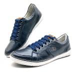 Sapatos Casual America Sapatenis Bm Brasil 759/14 Azul