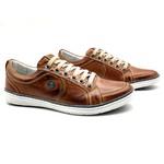 Sapatos Casual America Sapatenis Bm Brasil 759/15 Caramelo