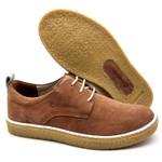 Sapato Masculino Cano e Gáspea de camurça Bmbrasil 890/01 Rato