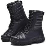 Coturno Tático Militar Semi-Impermeável Bmbrasil 5168/16 Preto