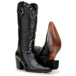 Bota Country Feminina Texana 3061 PRETO
