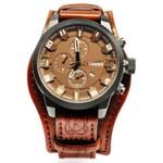 Relógio Curren 8225 Analógico - Marrom