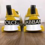 Tenis Dolce Gabbana Branco Amarelo